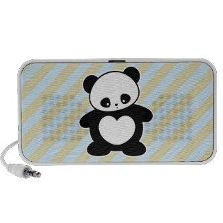 Panda de Kawaii Altavoz De Viajar