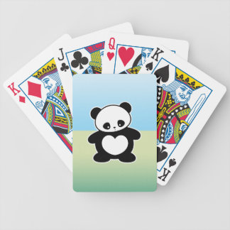 Panda de Kawaii Baraja De Cartas