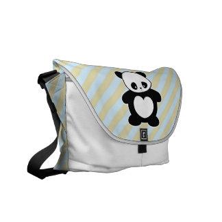 Panda de Kawaii Bolsa De Mensajeria