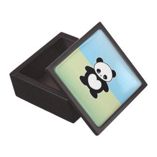Panda de Kawaii Cajas De Recuerdo De Calidad