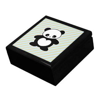 Panda de Kawaii Cajas De Regalo