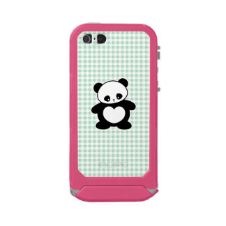 Panda de Kawaii Carcasa De Iphone 5 Incipio Atlas Id