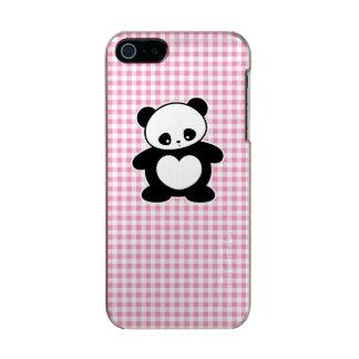 Panda de Kawaii Carcasa De Iphone 5 Incipio Feather Shine