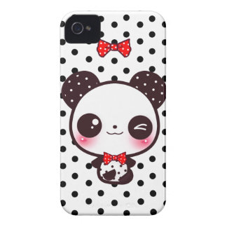 Panda de Kawaii Carcasa Para iPhone 4
