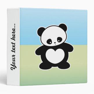 """Panda de Kawaii Carpeta 1 1/2"""""""