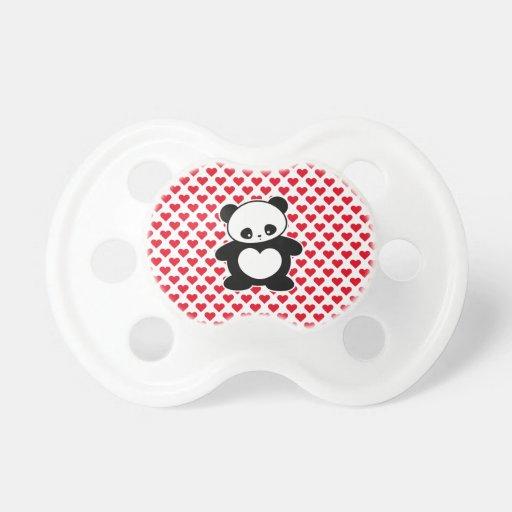 Panda de Kawaii Chupetes