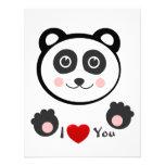 Panda de Kawaii Comunicado