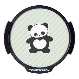 Panda de Kawaii Decal LED Para Ventana