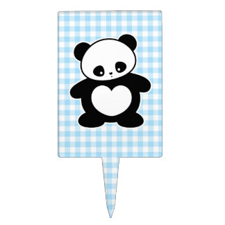 Panda de Kawaii Decoración Para Tarta