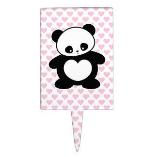Panda de Kawaii Figura De Tarta