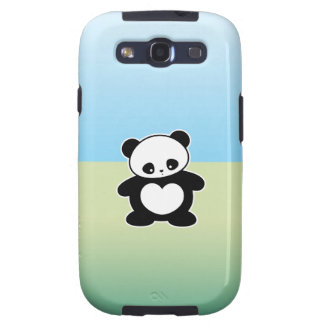 Panda de Kawaii Galaxy SIII Coberturas
