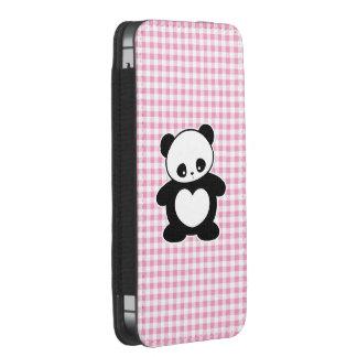Panda de Kawaii Funda Acolchada Para iPhone