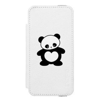 Panda de Kawaii Funda Billetera Para iPhone 5 Watson