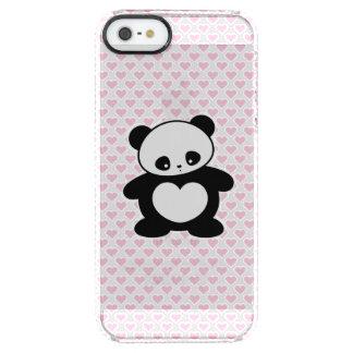 Panda de Kawaii Funda Clearly™ Deflector Para iPhone 5 De Uncommon