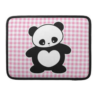 Panda de Kawaii Funda Macbook Pro
