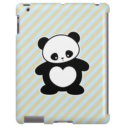 Panda de Kawaii Funda Para iPad