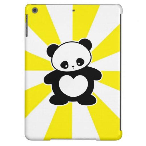 Panda de Kawaii Funda Para iPad Air