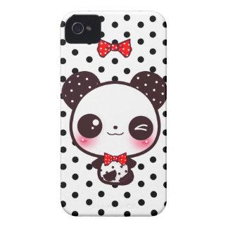 Panda de Kawaii Funda Para iPhone 4