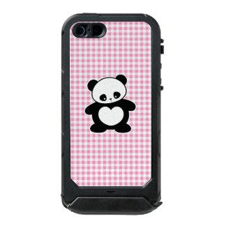 Panda de Kawaii Funda Para iPhone 5 Incipio ATLAS ID