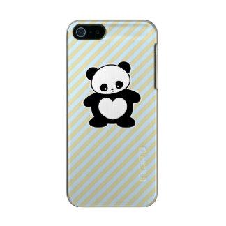 Panda de Kawaii Funda Para iPhone 5 Incipio Feather Shine