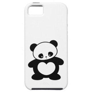 Panda de Kawaii Funda Para iPhone 5 Tough