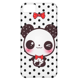 Panda de Kawaii Funda Para iPhone 5C