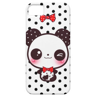 Panda de Kawaii Funda Para iPhone SE/5/5s