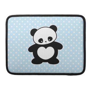 Panda de Kawaii Funda Para Macbook Pro