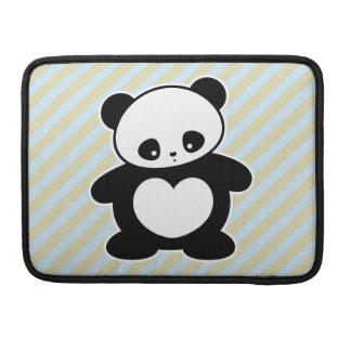 Panda de Kawaii Funda Para Macbooks