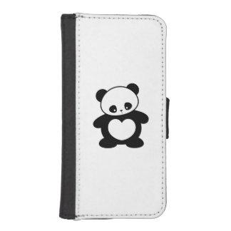 Panda de Kawaii Fundas Tipo Cartera Para iPhone 5