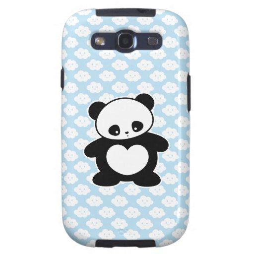 Panda de Kawaii Galaxy S3 Cárcasa