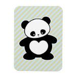 Panda de Kawaii Imán Flexible