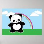 Panda de Kawaii Impresiones