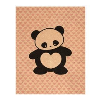 Panda de Kawaii Impresiones En Corcho