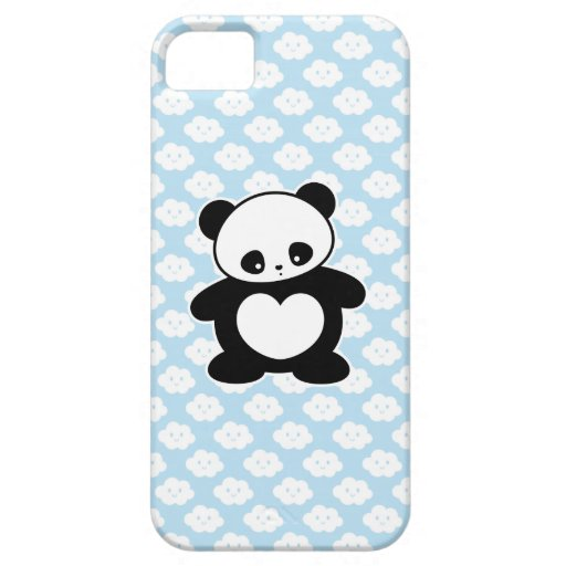 Panda de Kawaii iPhone 5 Case-Mate Cobertura