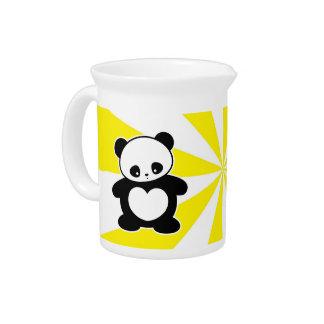 Panda de Kawaii Jarrón