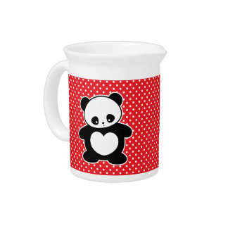 Panda de Kawaii Jarras
