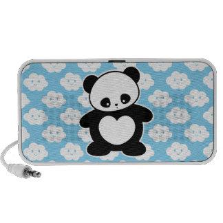 Panda de Kawaii Laptop Altavoces