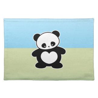 Panda de Kawaii Mantel