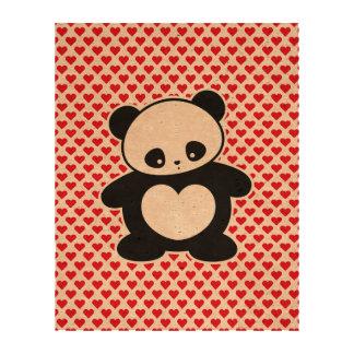 Panda de Kawaii Papel De Corcho Para Fotos
