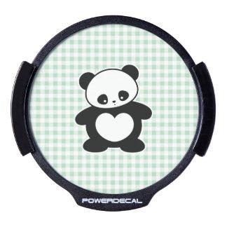Panda de Kawaii Pegatina LED Para Ventana