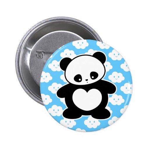 Panda de Kawaii Pins