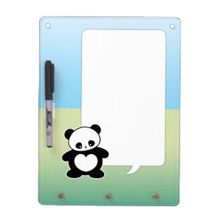 Panda de Kawaii Pizarra