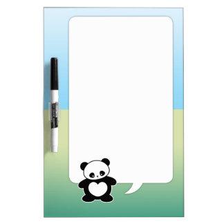 Panda de Kawaii Pizarras Blancas De Calidad