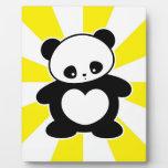 Panda de Kawaii Placas