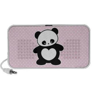 Panda de Kawaii Portátil Altavoces