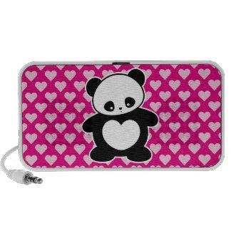 Panda de Kawaii Portátil Altavoz