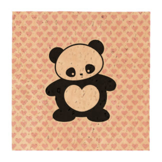 Panda de Kawaii Posavasos