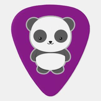 Panda de Kawaii Púa De Guitarra