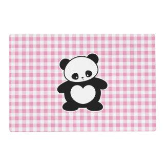 Panda de Kawaii Salvamanteles